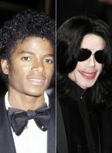 michael jackson light skin